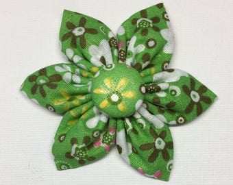 "3"" Spring Time Flower Bow"