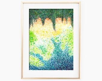 Landscape Abstract Art, Landscape Watercolor, Landscape Abstract Watercolor, Landscape Art Print, Landscape Wall Art, Landscape Painting