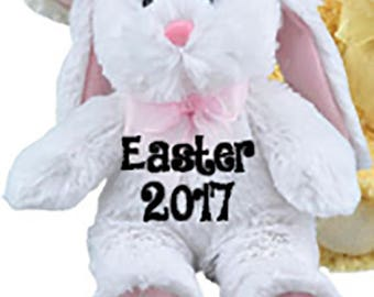 Easter Bunnies Personalized-Plush Easter Bunny-2018 Bunnies