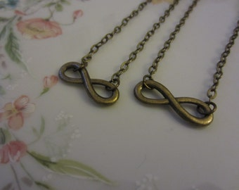 Best Friends Infinity Necklaces
