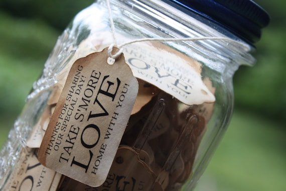"Take S'More With You 150 SMALL 2"" Favor Tag"