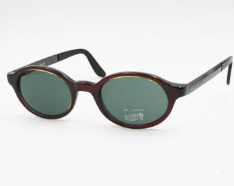 Le Club Actif sunglasses mod. 2165 oval shape multi layers processing // Red Yellow Blue // NOS 1990s
