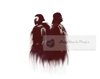 Kylo Ren And  Darth Vader