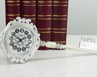 10% OFF Alarm Clock Soviet mechanical alarm clock Desk clock Russian Vintage Alarm Clock Made in USSR Retro alarm cloks antique Table clocks