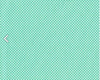 1/2 YD or 1 YARD Fabric - Cotton+Steel ~ Dining Car Turquoise by Alexia Abegg for her Mesa Collection