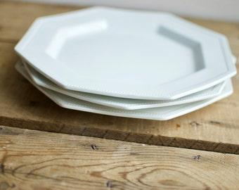 Friendly Village Demitasse Cup and Saucer Side Plate Tea set