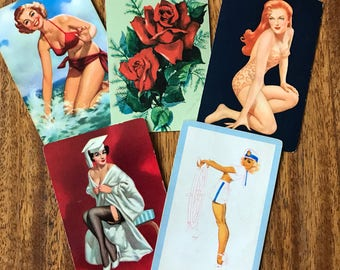 Pretty Pin Up Playing Cards Pinup Rockabilly