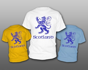 scotland scottish t-shirt tee shirt short or long sleeve your choice! all sizes many colors