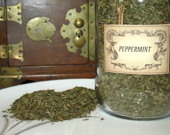 Peppermint Herb~Element of Air~Planet Venus~Aromatic Herb~One Ounce