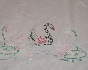 Swan Tablecloth