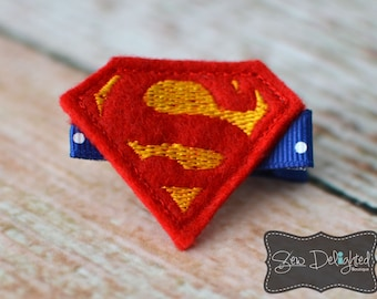 Super Hero Hair Clip