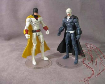 Custom Action Figure - Make To Order! Space Ghost / Space Spectre 3 3/4""