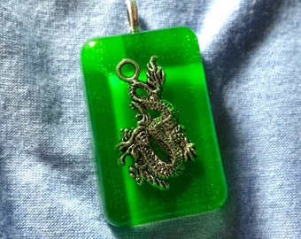 Resin Dragon Necklace