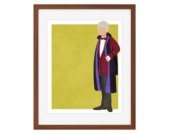Doctor Who print - the Third Doctor/Jon Pertwee