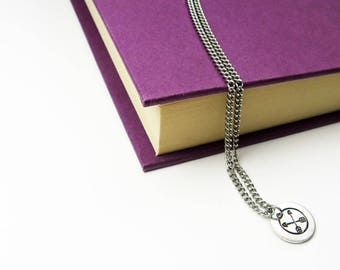 Arrow Pendant - Simple Crossed Arrows Necklace - Friendship Jewelry