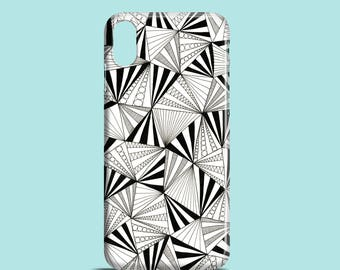 Party Triangles mobile phone case, iPhone X, iPhone 7, iPhone 7 Plus, iPhone SE, iPhone 6S, iPhone 6, iPhone 5S, iPhone 5, iPhone 8 cover