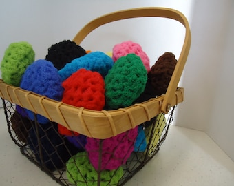 Nylon Scrubbie (SINGLES) for Kitchen, Pots & Pans, Bath and Many Other Uses