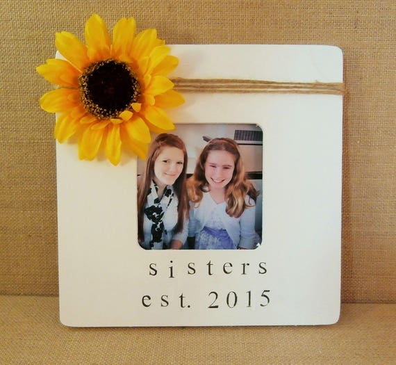 Wedding Gift Ideas For Sister In Law: Sister In Law Wedding Gift Sunflower Picture Frame