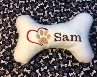 Dog Sympathy Pillow, Pet Memorial Gift, Pet Loss, Personalized Pet Sympathy, Pet Condolences, Dog Memorial Gift, Tribute Pet Loss, In Memory