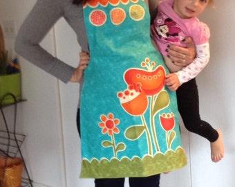 Sassy apron panel