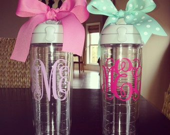 Personalized Tervis water bottle {24oz}
