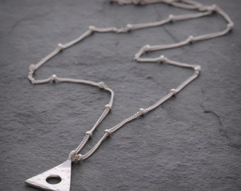 Sterling Silver Alanon Necklace