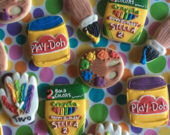 Custom Kids Play Sugar Cookies