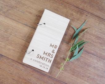 Instax Mini Slim Photo Album, Wood Photo Booth Album, Instax Mini Wedding