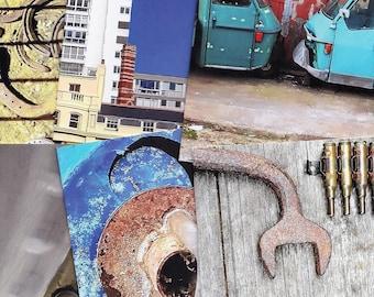 iron duke art selection - five greetings/art cards