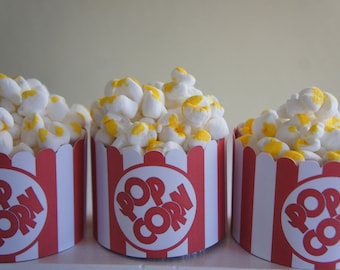 Popcorn Cupcake Wrapper Set of 12