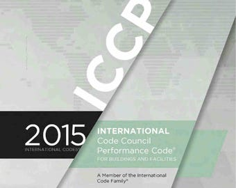 2015 International Code Council Performance Code (ICCPC) - (PDF on CD)