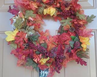 Fall Wreath 1