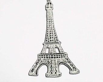 Eiffel tower in Paris patch.