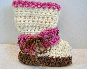 crochet pattern, Baby booties, Unisex style, Ankle strap, double sole booties, great shower gift,  num. 910