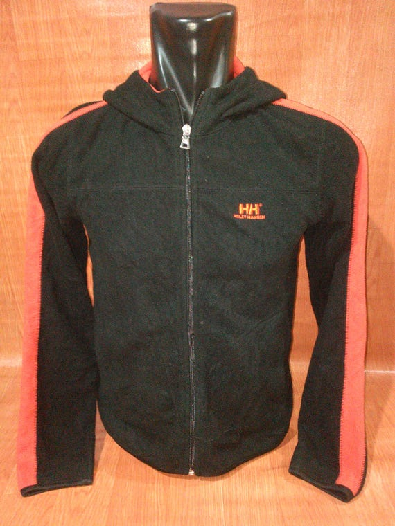 On Sale Vintage Helly Hansen Spell out Big Logo Hoodie Jacket Rare G905CR8EOW