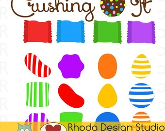 Crushing Candy Vinyl Sticker Silhouette or Cricut Cutting File | SVG Quote Expression