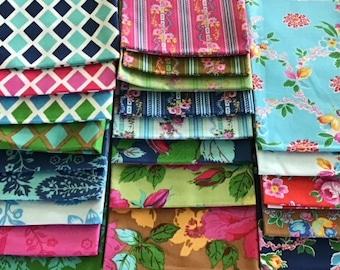 Happy Land by Jennifer Paganelli  Fat Quarter Bundle  Free Spirit Fabric