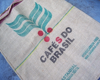 Burlap Coffee Sack Cafe Do Brasil