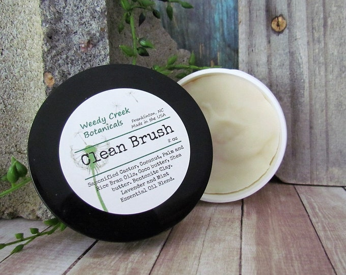 Brush Cleaner, Makeup Brush Cleaner, Natural Brush Soap