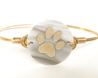 Paw Hook Bangle, Bangle, Bracelet, Pet Jewelry