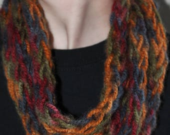 El Paso Finger Knit Infinity Scarf