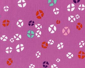 Mochi Hot Cross Buns in Dark Plum, Rashida Coleman Hale, Cotton+Steel, RJR Fabrics, 100% Cotton Fabric, 1914-2