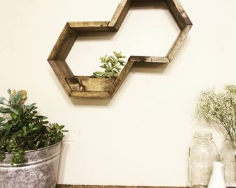 Holy Hex Planter Shelf