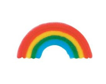 Primary Rainbow Sugar Dec-on adds a colorful accent to your favorite baked treats.