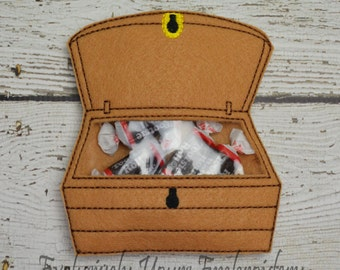 Treasure Chest Candy Pouch