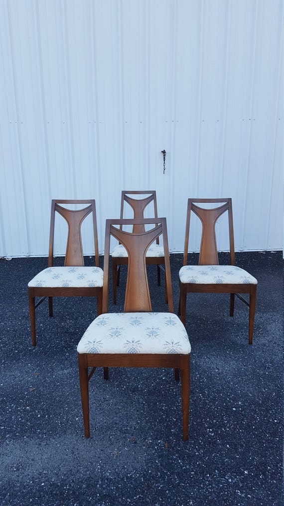 Vintage Mid Century Kent Coffey Perspecta Dining Room Chairs Set Of 4