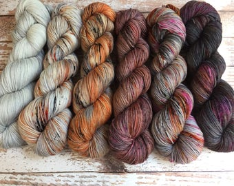 PREORDER - What The Fade Kit # 2 - Hand Dyed Yarn