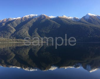Lake monawai New Zealand