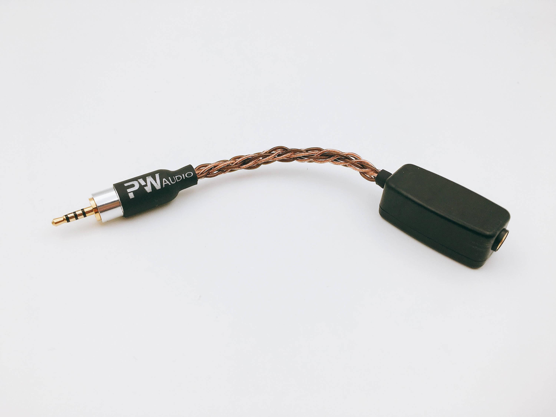 PWAudio Adapter Serie 44 mm weiblich 25 mm männlichen