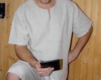 Men's pajamas 100% flax